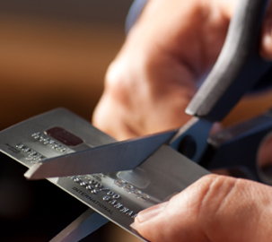 How do I get out of credit card debt?
